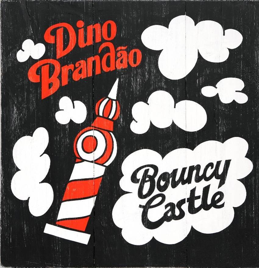 Portada de Bouncy Castle de Dino Brandão.