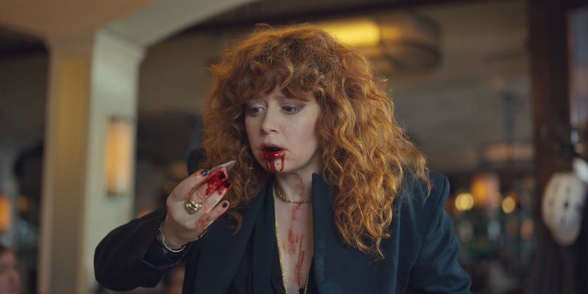 Nadia a punto de morir en Muñeca Rusa.