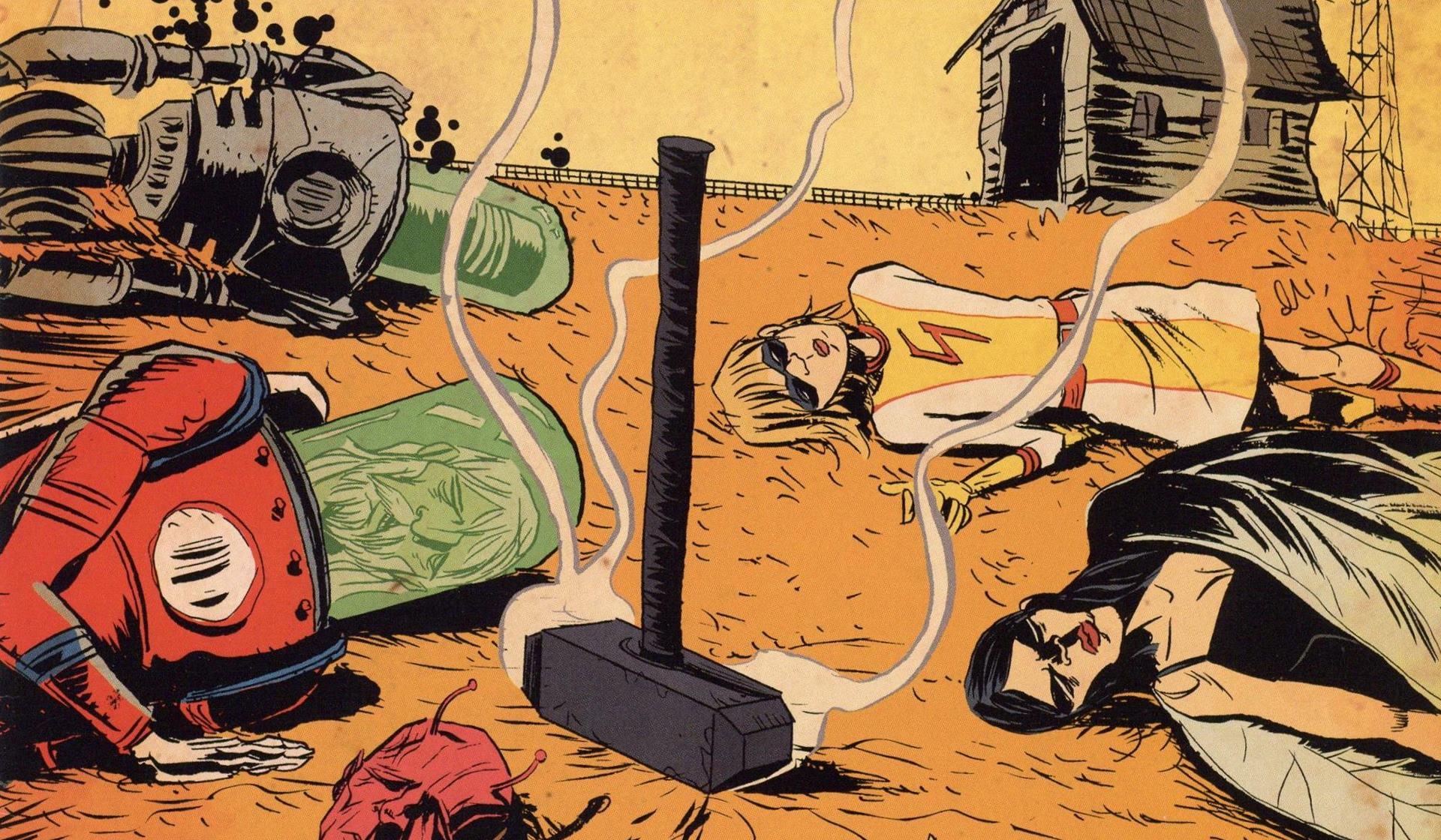 Black Hammer de Jeff Lemire y Dean Ormston