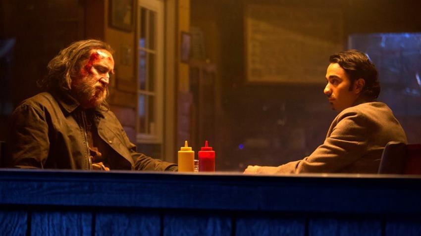 Nic Cage y Alex Wolff en Pig.