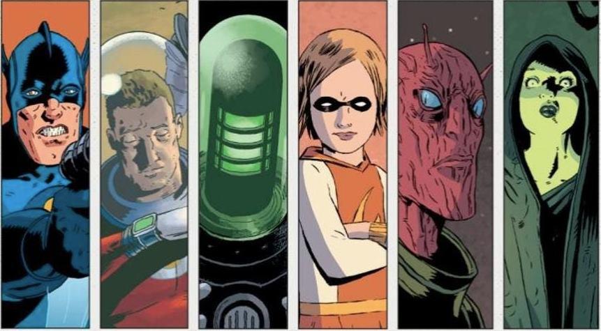 Los héroes de Black Hammer.