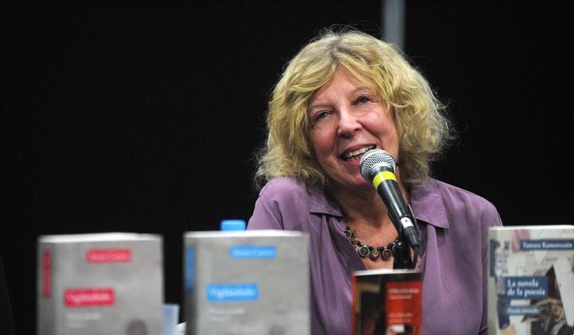 Tamara Kamenszain, la poeta de hoy.