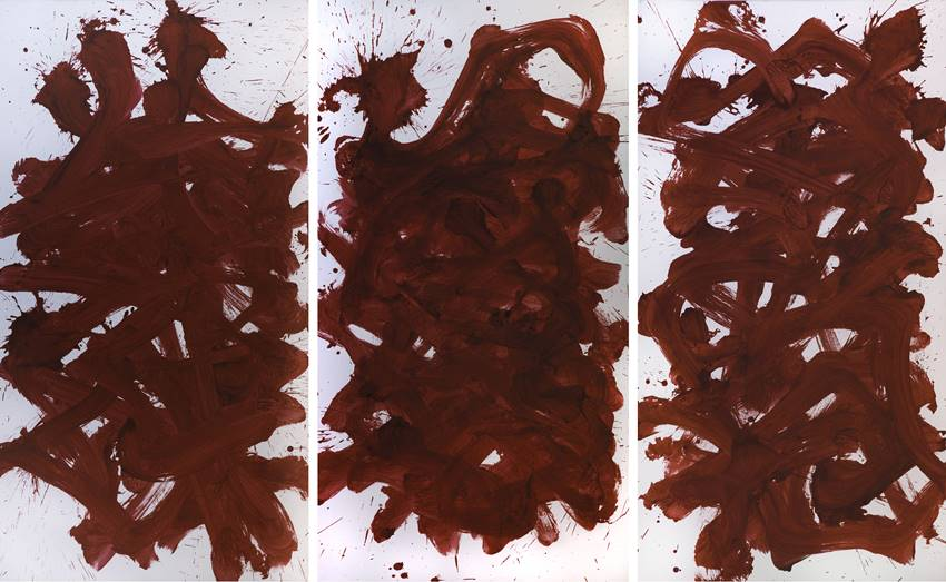 Una de la obras que componen Metamorphosis de Masaaki Hasegawa.