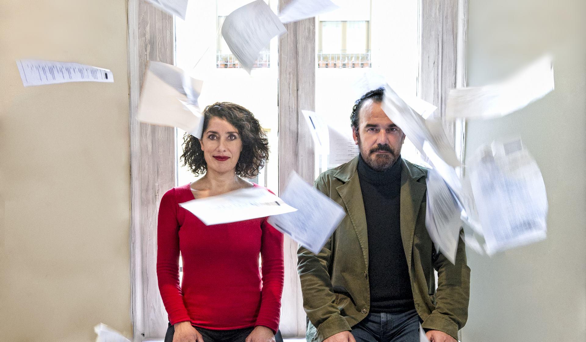 Sincronía (Una comedia amarga), de Sandra Marchena.
