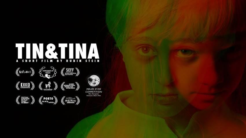 Cartel del cortometraje TIN&TINA.
