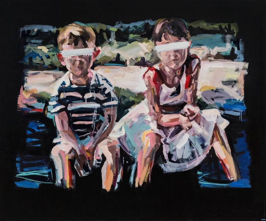 Óleo sobre lienzo. Yolanda Dorda, 2015.