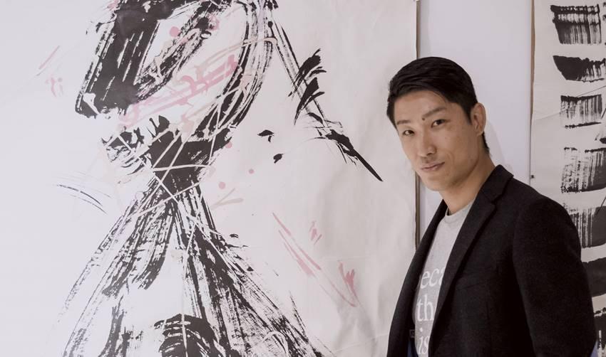 El artista japonés residente en Madrid Masaaki Hasegawa.