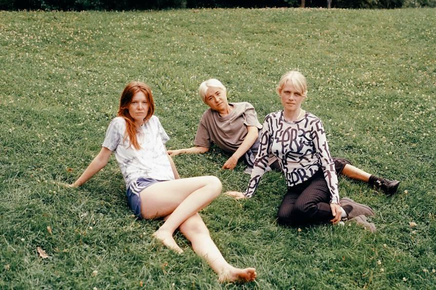 La banda femenina Felines. Foto: Albert Hildebrand.