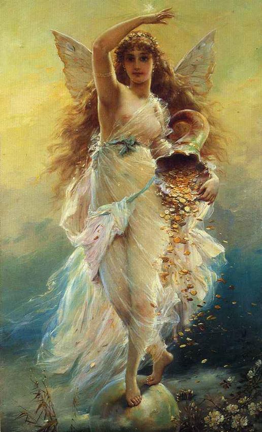 La diosa Spes. Fortuna, de Jean Francois Armand Felix Bernard. Relatos eróticos.