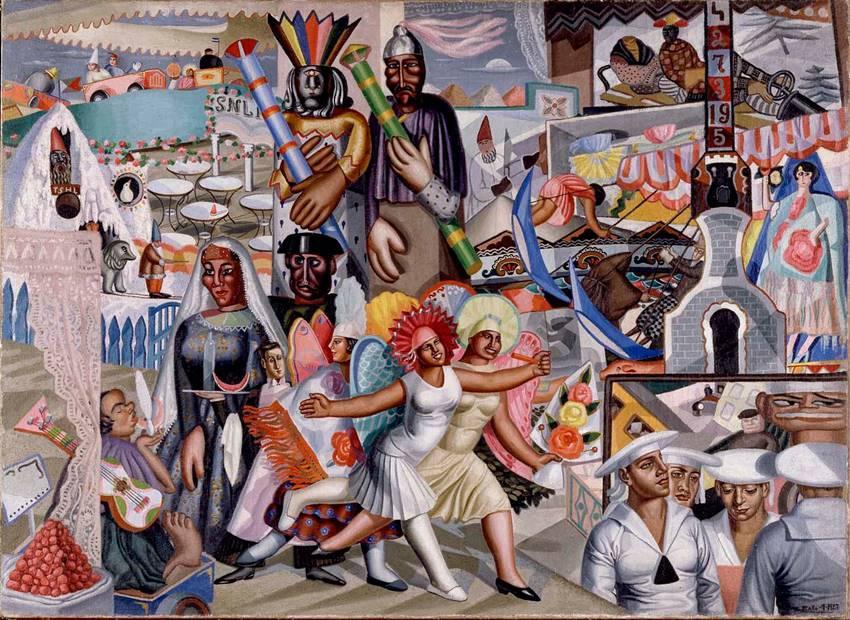 La verbena, Maruja Mallo (1927).