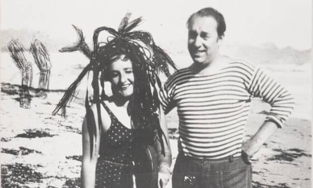 Maruja Mallo y Pablo Neruda.