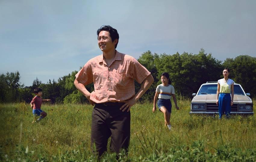 Fotograma de la película coreana, Minari. Historia de mi familia.