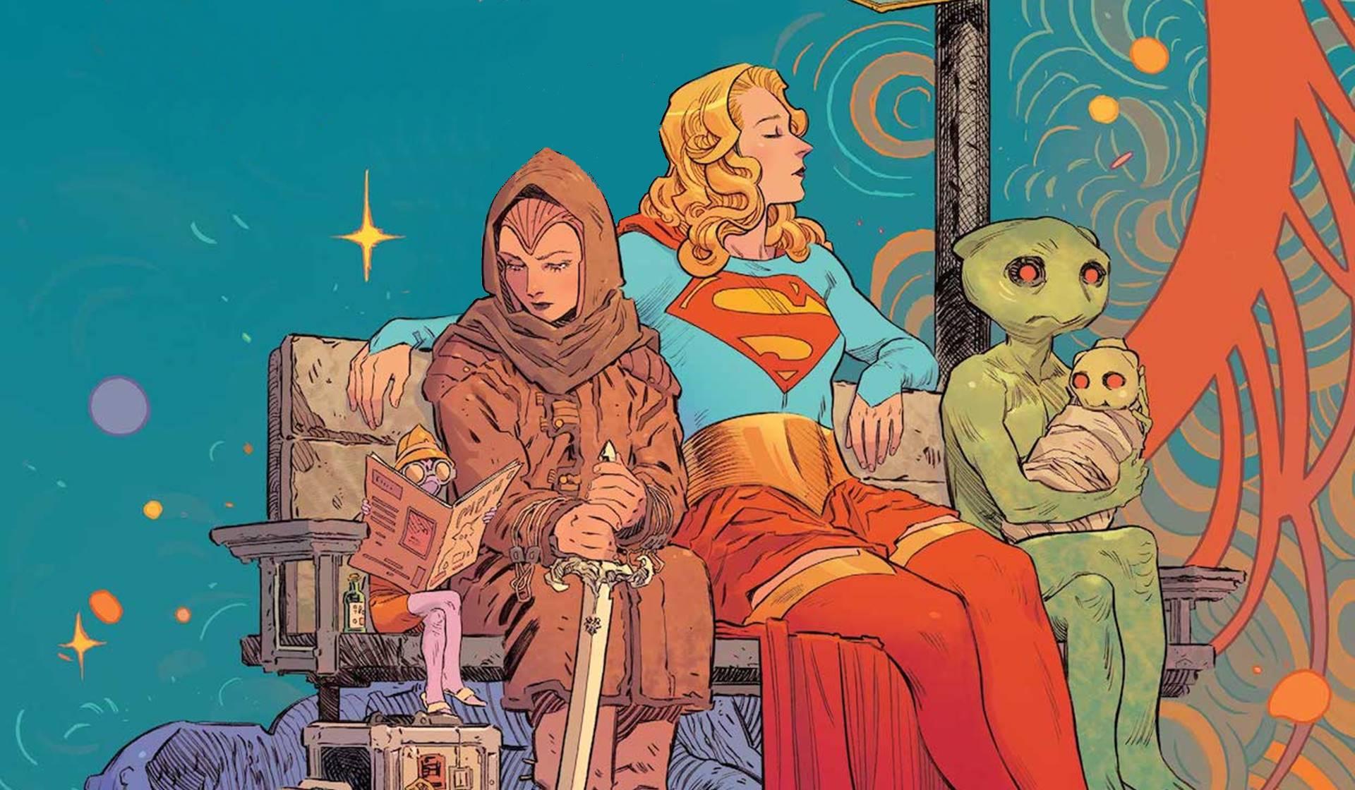 'Supergirl: woman of tomorrow', de Tom King y la genial dibujante Bilquis Evely.