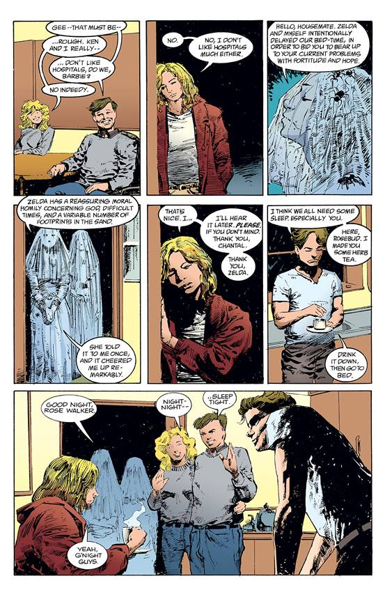 Los extraños inquilinos de la casa en la que vive Rose Walker.