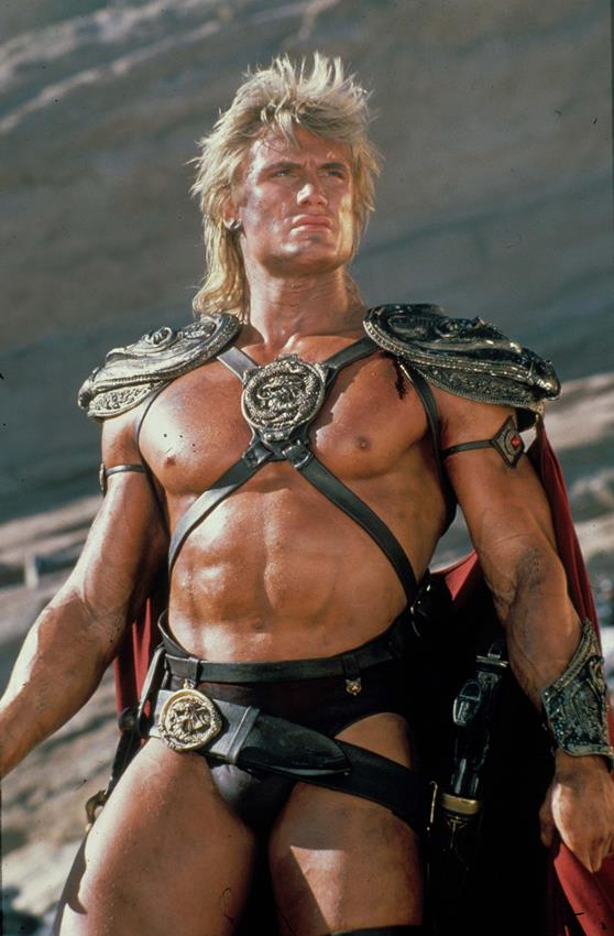 Dolph Lundgren es He-Man en Masters of the Universe