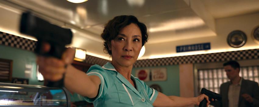Michelle Yeoh en Gunpowder Milkshake.