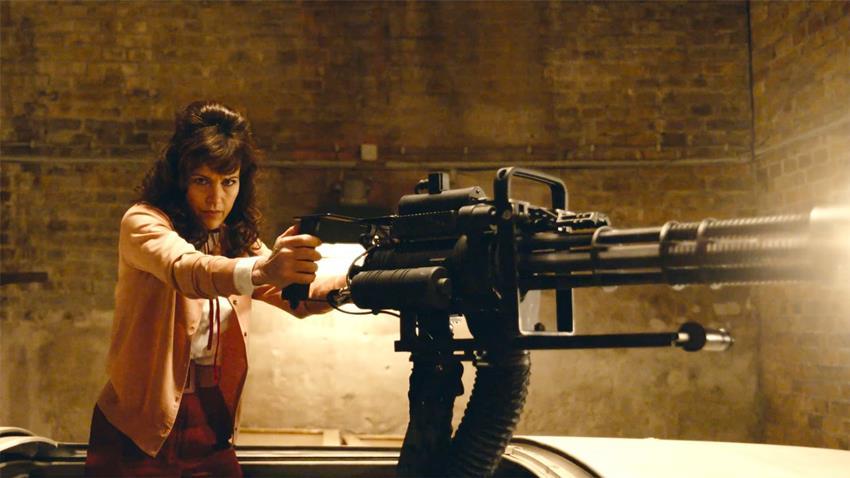 Carla Gugino en Gunpowder Milkshake.