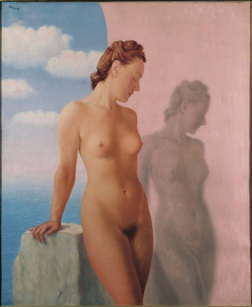 El sueño (1945) René Magritte. Utsunomiya Museum of Art, Japan. Courtesy Ludion Publishers. VEGAP Madrid 2021