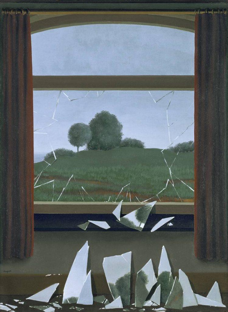 La llave de los campos (1936) René Magritte. Museo Naciona Thyssen Bornemisza. VEGAP Madrid 2021