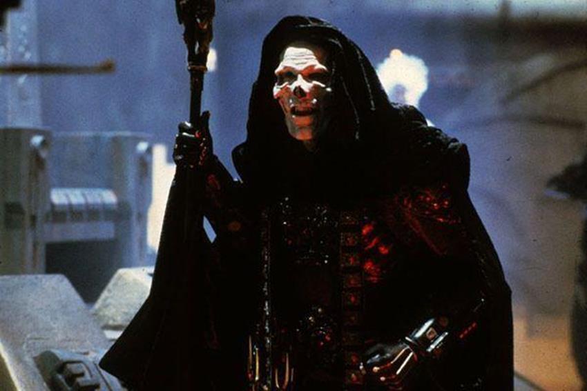 Frank Langella interpretó al terrorífico Skeletor.