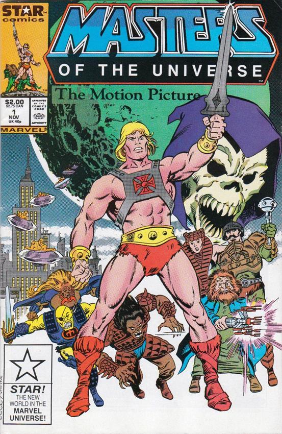 comic de Masters of the Universe