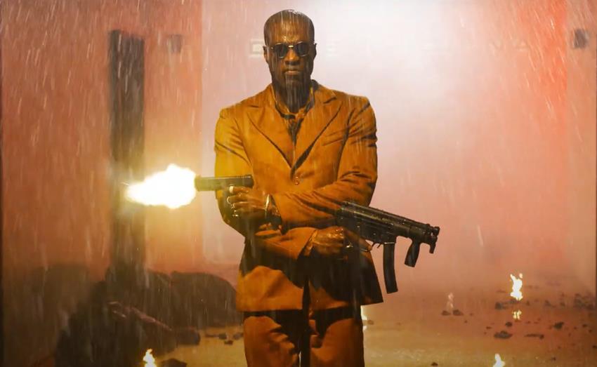 Yahya Abdul-Mateen II interpreta a Morfeo en Matrix Resurrections.