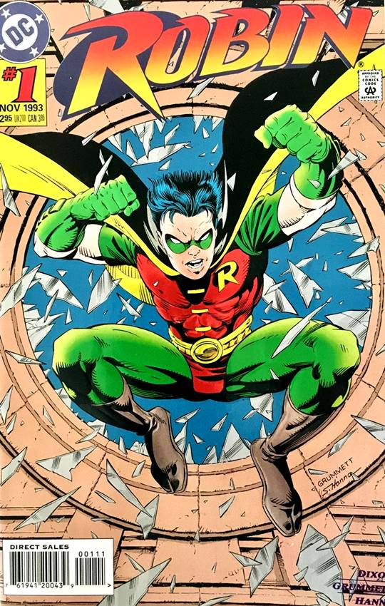 Número uno de la serie del Robin de Tim Drake.