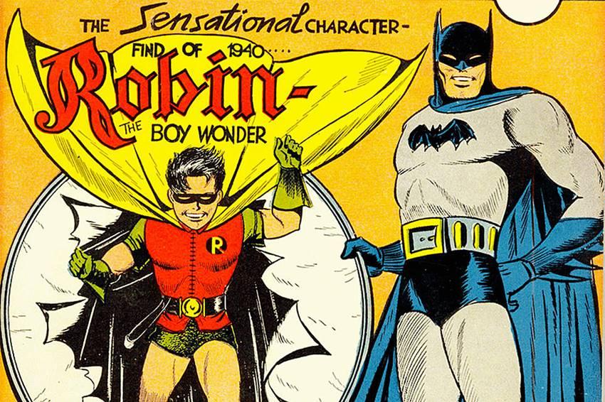 Primera a aparición de Robin.