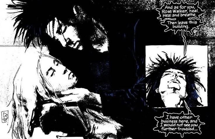 Rose Walker y Sueño.