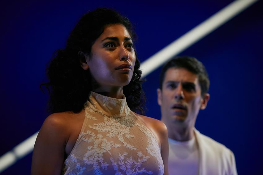 Mina El Hammani como Yocasta en Edipo. © Jesús Ugalde.