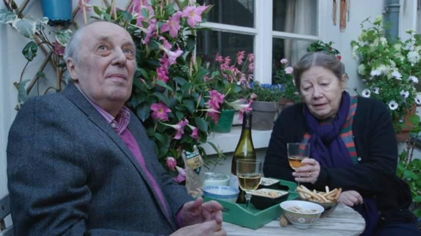 Dario Argento y Françoise Lebrun en Vortex.
