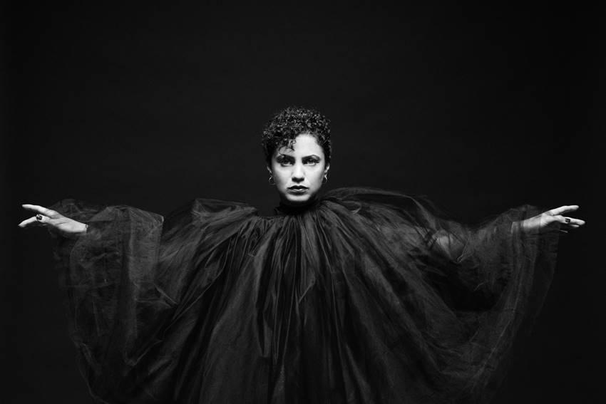 La artista tunecina Emel Mathlouthi. ©Madrid Cultura.