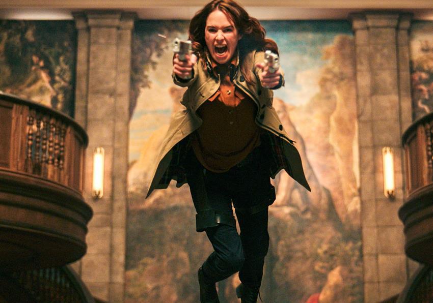 Lena Headey en Gunpowder Milkshake.