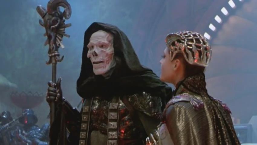 Skeletor junto a Evil-Lyn