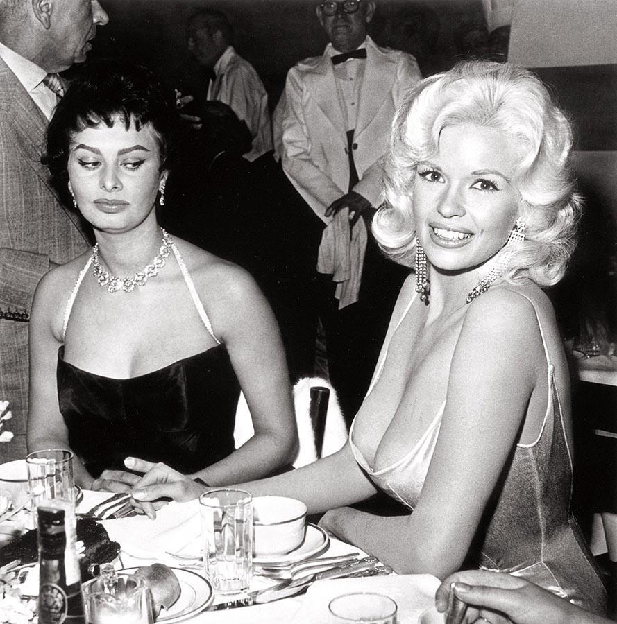 La famosa mirada de Sophia Loren.