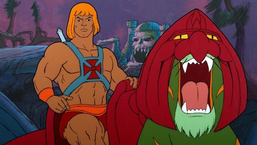 He-Man en su primera serie de animación.