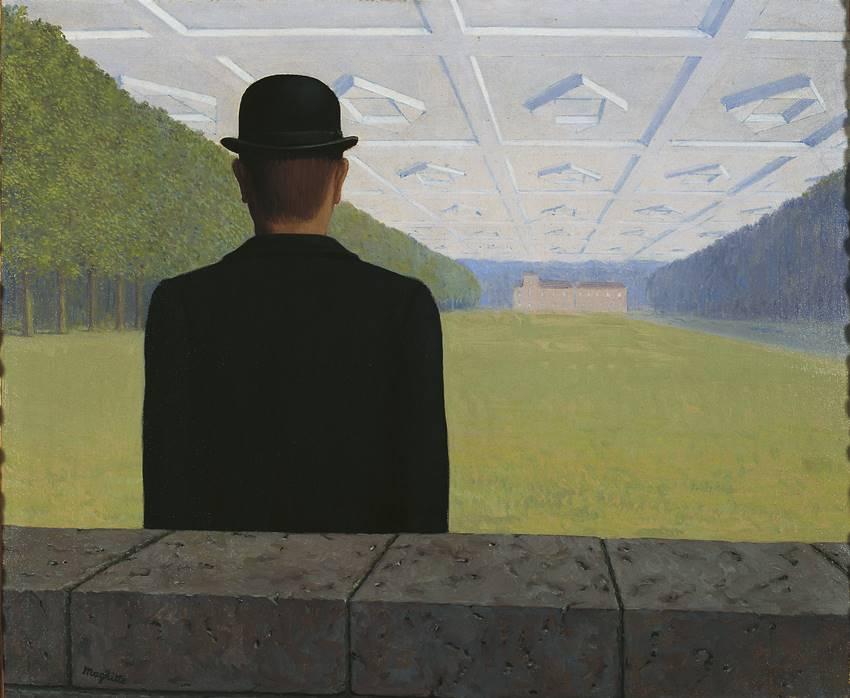 El gran siglo (1954). René Magritte. Kunstmuseum Gelsenkirchen, VEGAP, Madrid 2021