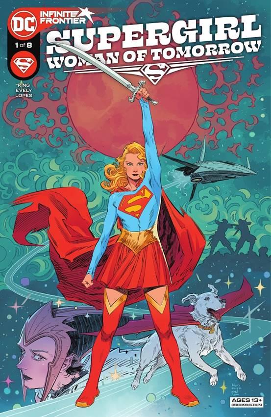 Primer número de Supergirl: woman of tomorrow.