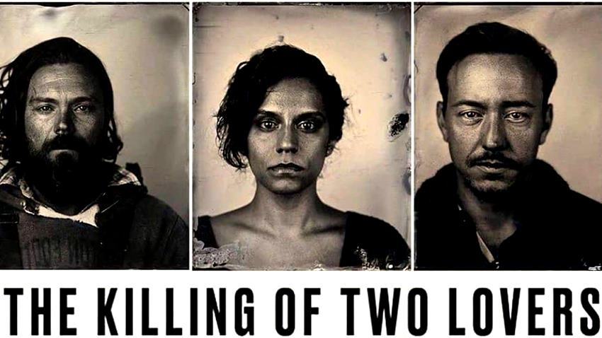 David (Clayne Crawford), Niki (Sepideh Moafi) y Derek (Chris Coy) en The Killing of the Two Lovers.