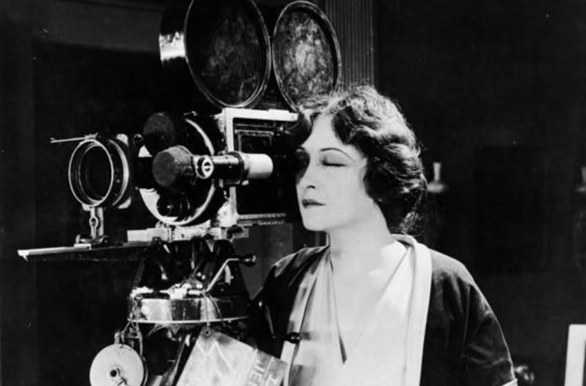 Mujeres del cine.