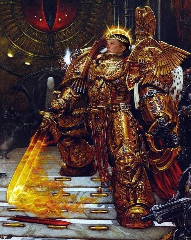 Ave Imperator. Warhammer 40000