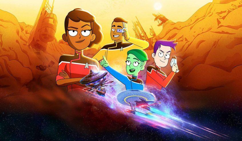 'Star Trek: Lower Decks', el universo Trekkie, la última frontera