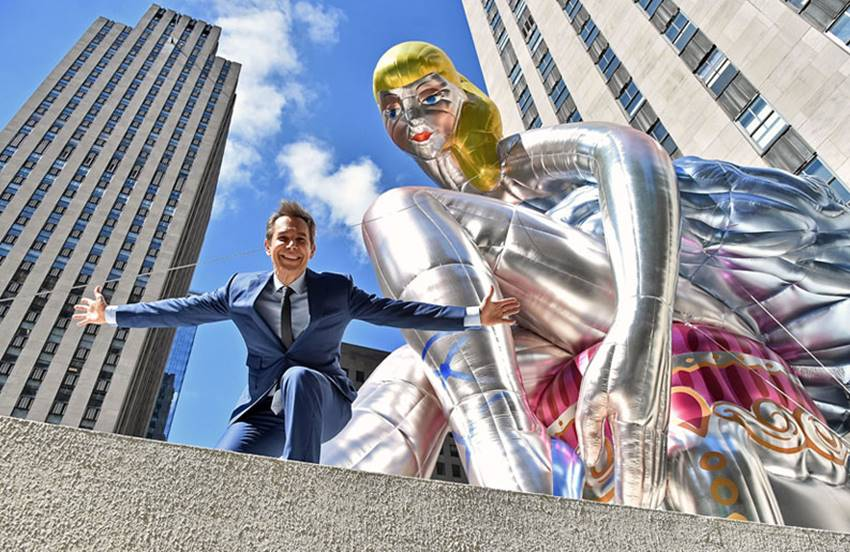 El escultor Jeff Koons.