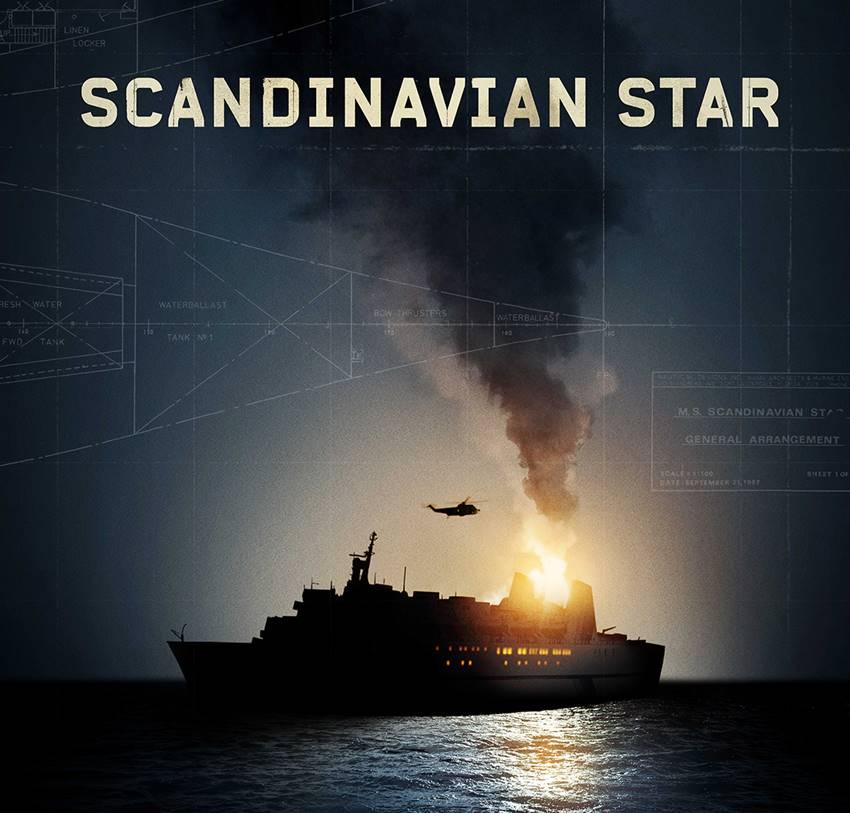 Cartel serie Scandinavian Star.